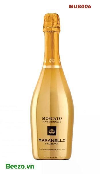 SPUMANTE MOSCATO GOLD VANG NGỌT MOSCATO SPARKLING ITALY