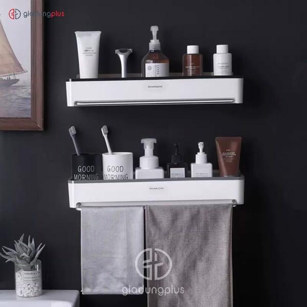 kệ dán tường nhựa ABS cho phòng tắm ShuangQuing | Gia Dụng Plus