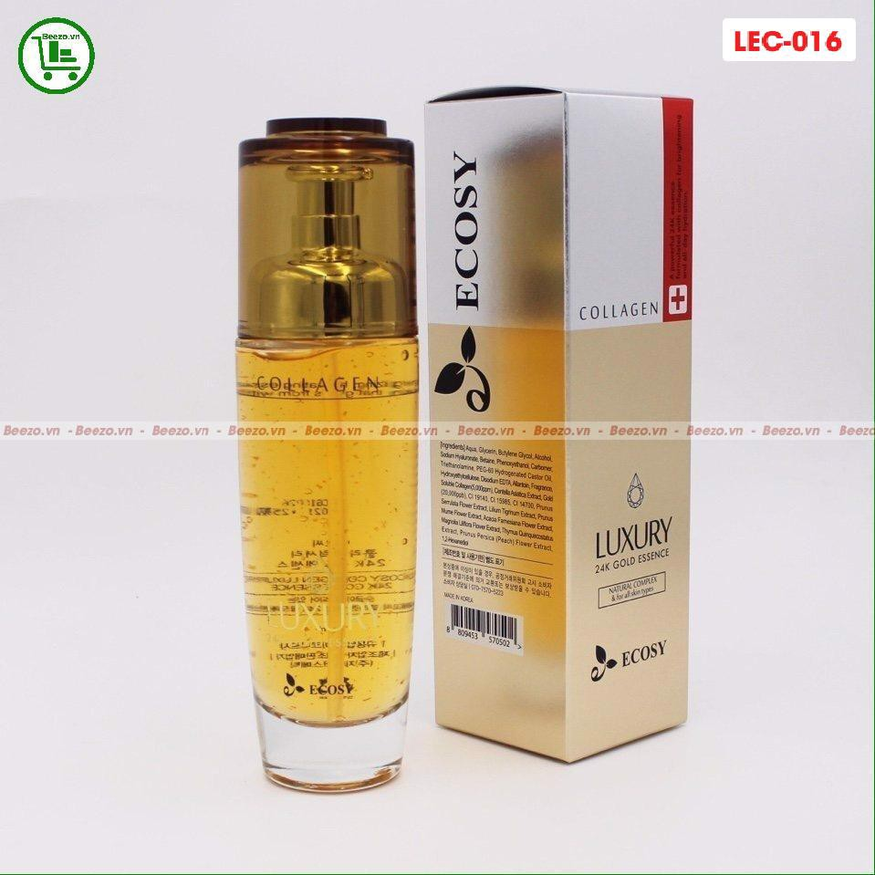 TINH CHẤT COLLAGEN LUXURY 24K GOLD ECOSY 120ML