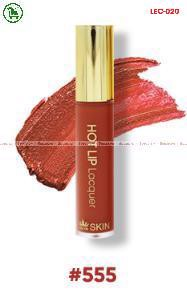 [555-ORANGE SOIL-CAM ĐẤT] SON KEM LÌ HOT LIP LACQUER ZELYN SKIN