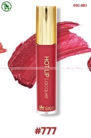 [777-RED PINK - ĐỎ HỒNG] SON KEM LÌ HOT LIP LACQUER ZELYN SKIN