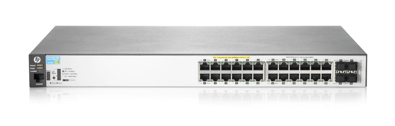 HPE Aruba 2530 24G PoE+ Switch - J9773A