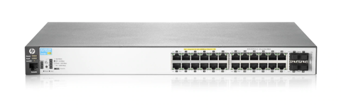 HPE Aruba 2530 24G PoE+ 2SFP+ Switch - J9854A