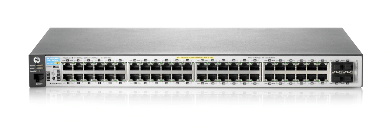 HPE Aruba 2530 48G Switch - J9775A
