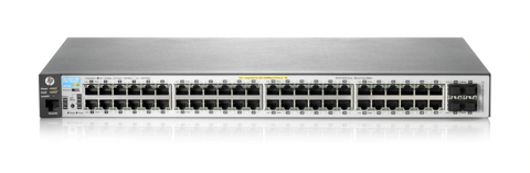 HPE Aruba 2530 48G PoE+ 2SFP+ Switch - J9853A