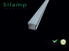 THANH NHÔM CHO ĐÈN LED | Silamp PC COVER Illumination Aluminum Profile 2M
