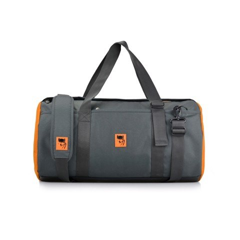 The Sporty Gear - Charcoal / Orange