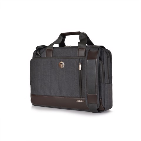 The Ralph Briefcase-Graphite
