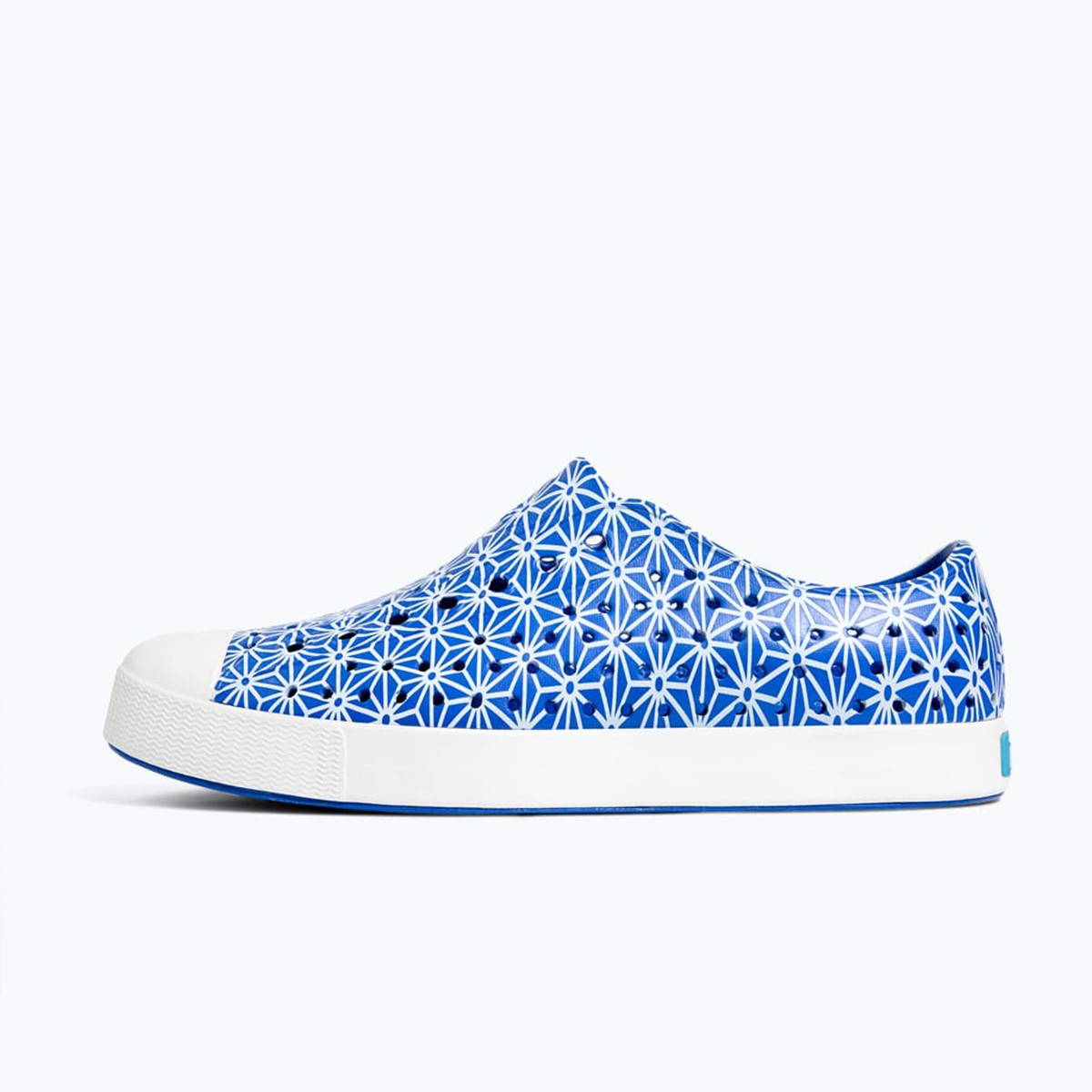 GIÀY NATIVE AD JEFFERSON PRINT (11100101) UV BLUE/ SHELL WHITE/ ASANOHA
