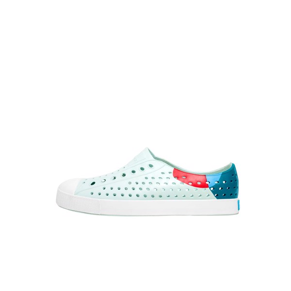 Giày native ad jefferson block (11100102) coastal blue/ shell white/ dot block