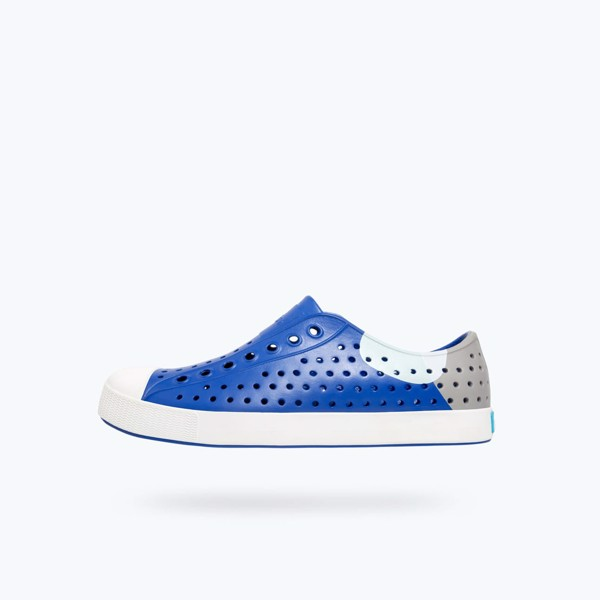 Giày native ad jefferson block (11100102) marine blue/ shell white/ dot block
