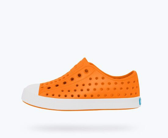 Giày native j jefferson junior (12100100) city orange/ shell white