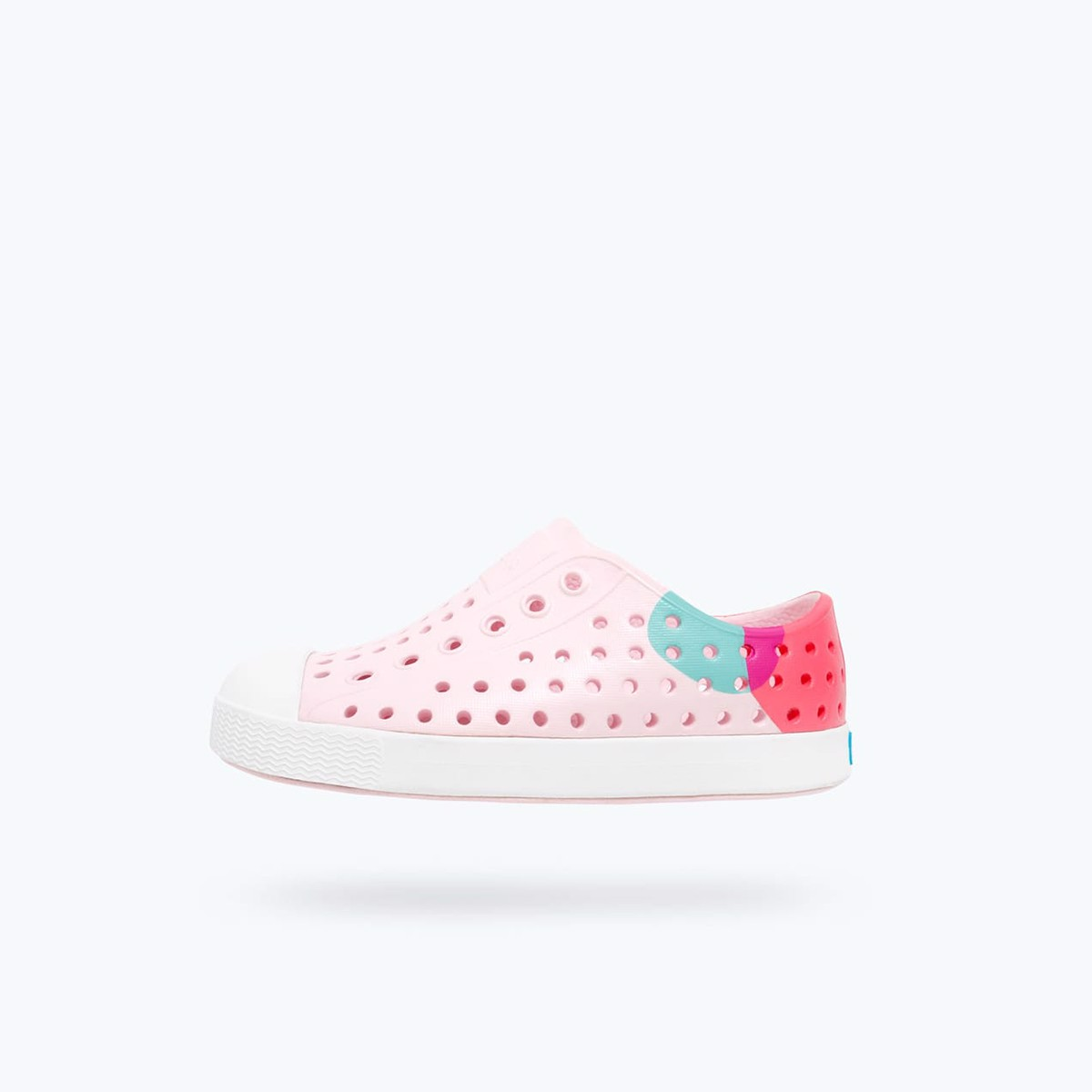 GIÀY NAT J JEFFERSON BLOCK JUNIOR (12100102) MILK PINK/ SHELL WHITE/ DOT BLOCK
