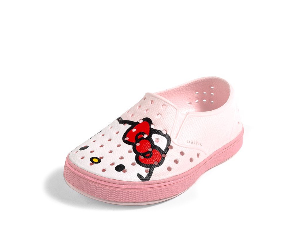 Giày native j miles print junior (12104601) blossom pink/ princess pink/ hello kitty