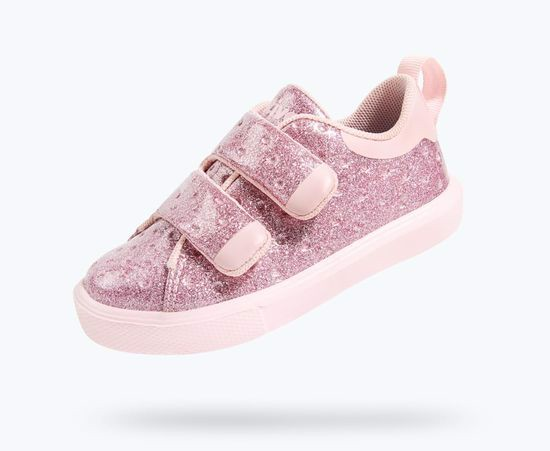 GIÀY NATIVE J MONACO GLITTER JUNIOR (22104407) PINK GLITTER/ COLD PINK