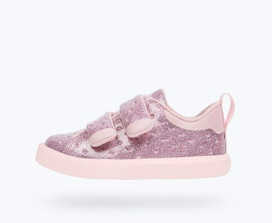 GIÀY NATIVE C MONACO VELCRO GLITTER CHILD (23104407) PINK GLITTER/ COLD PINK