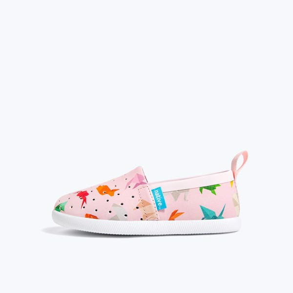 GIÀY NATIVE C VENICE PRINT CHILD (23102301) BLOSSOM PINK/ SHELL WHITE/ ORIGAMI