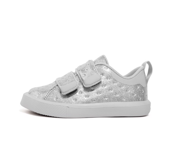 GIÀY NATIVE J MONACO GLITTER JUNIOR (22104407) SILVER GLITTER/ MIST GREY