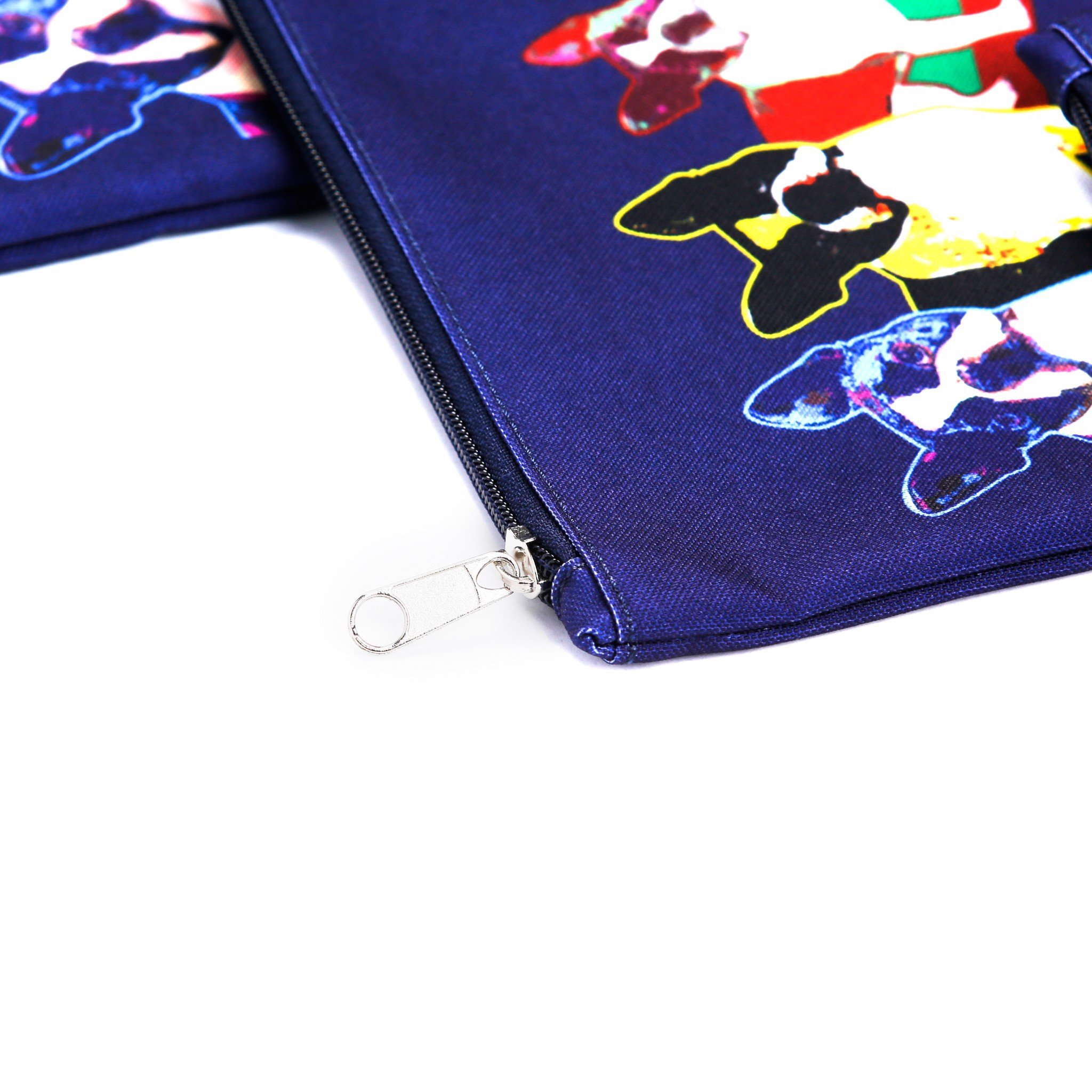 Túi XOX Zip Pockets 4 Pull Dogs Navy