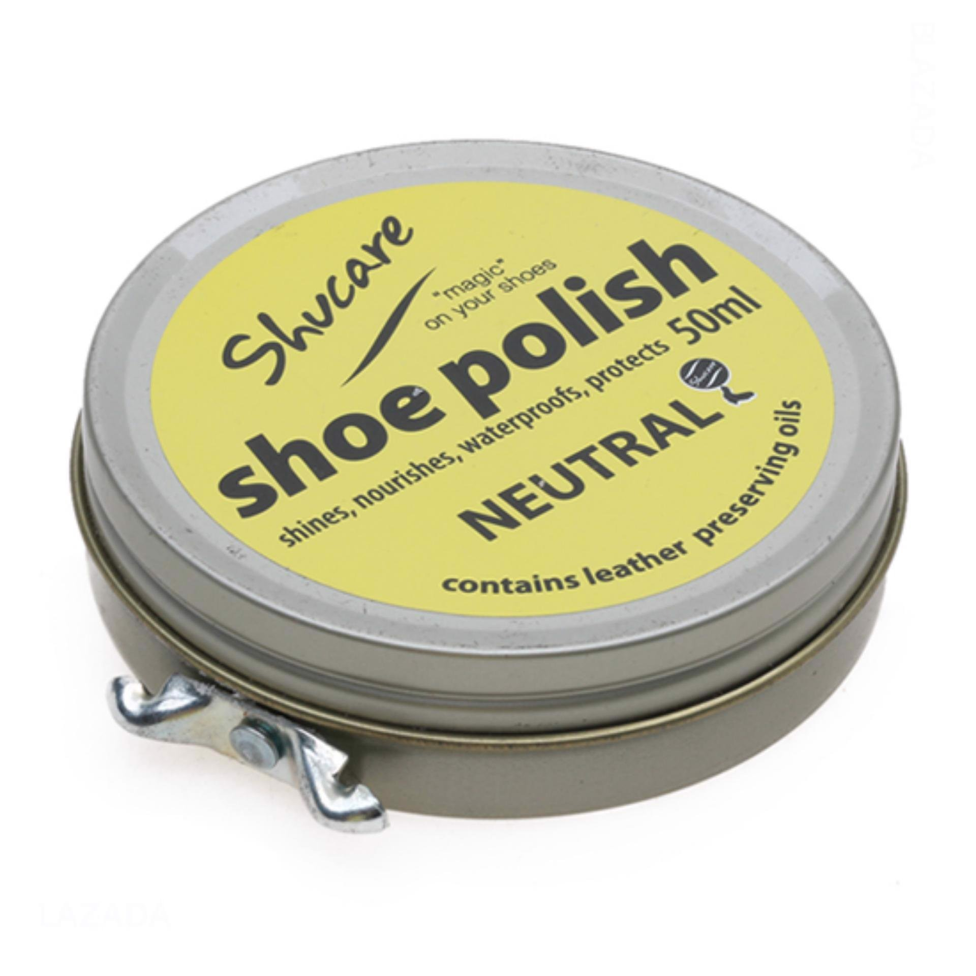 SHUCARE Tin Shoe Polish