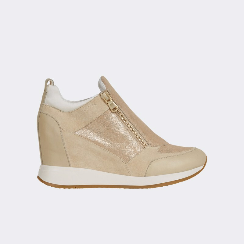 Giày Sneaker Nữ Geox D Nydame E - Shiny Sue+Suede