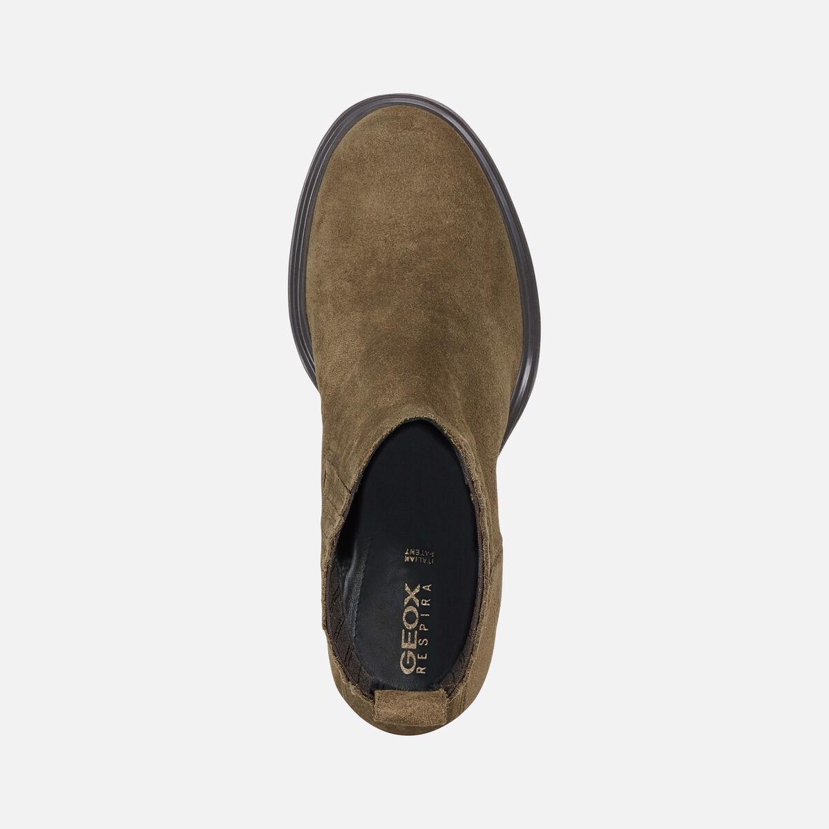 Giày Boots Nữ Geox D Salice High B - Oil.Suede