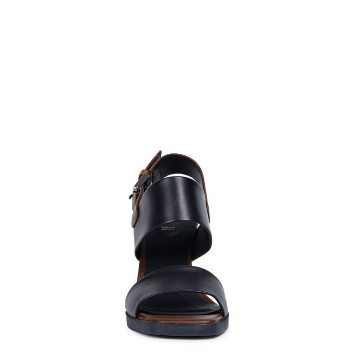Giày cao gót geox d jenieve a (d92cda) smooth leather black/brown
