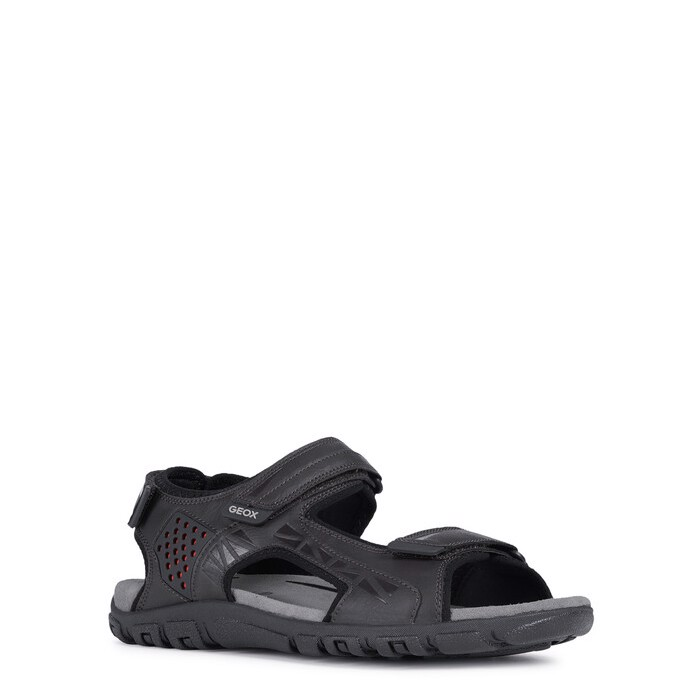 Giày sandals geox u s.strada c (u9224c) synth.leather black