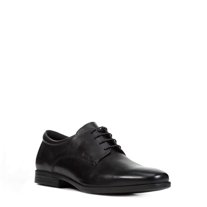 Giày geox u calgary b (u926sb) smooth leather black