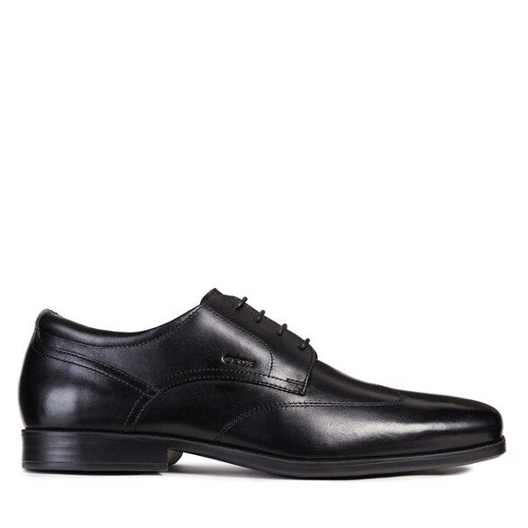 Giày geox u calgary c (u926sc) smooth leather black