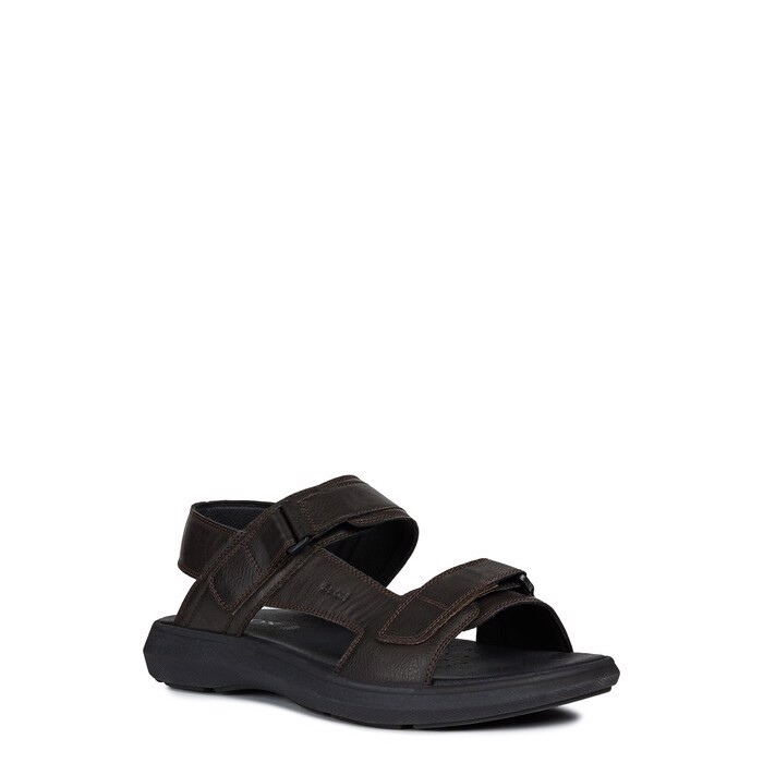 Giày sandals geox u goinway a (u926va) synth.leather brown