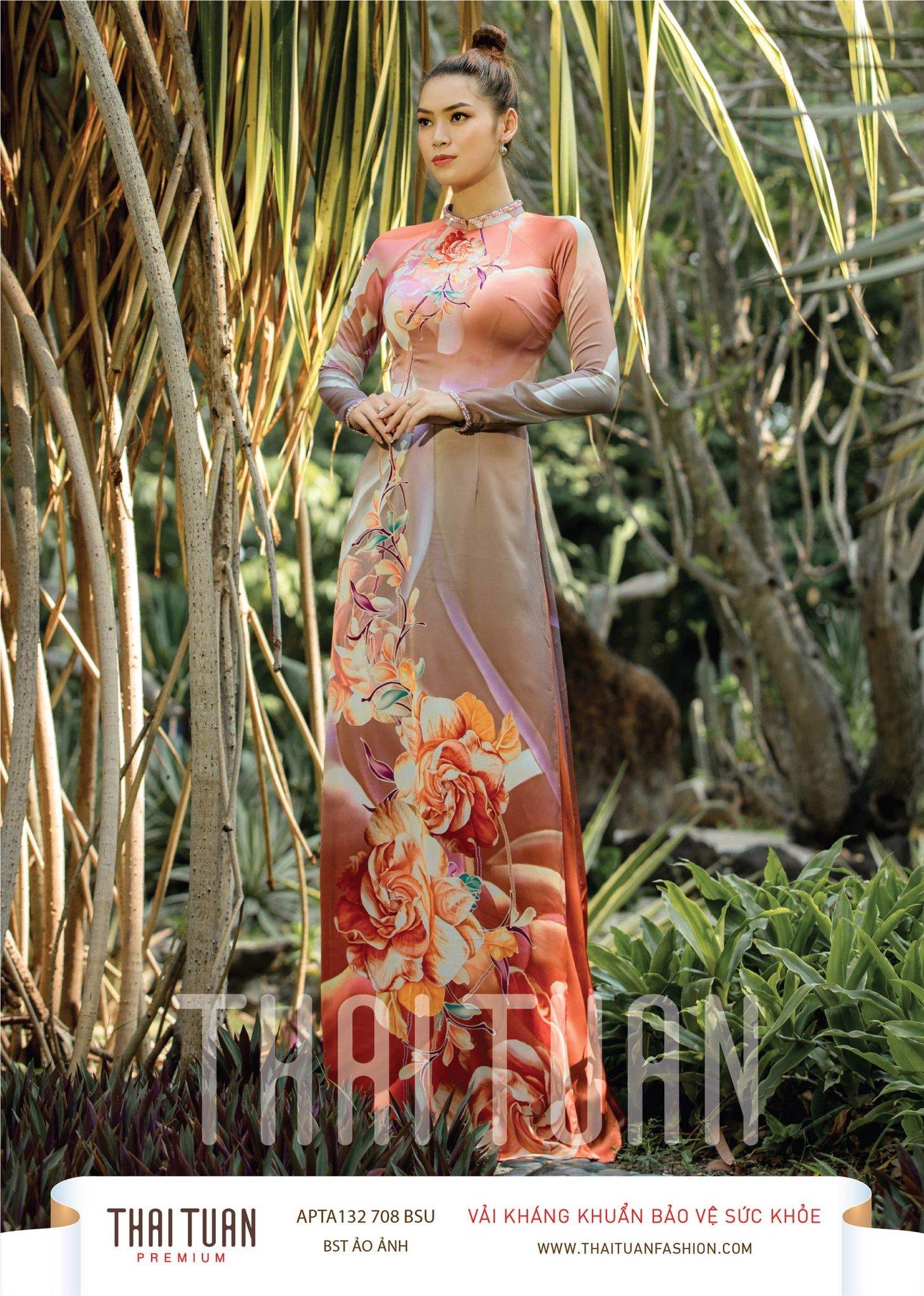 APTA132-708-BSU | Vải Áo Dài Thái Tuấn Premium