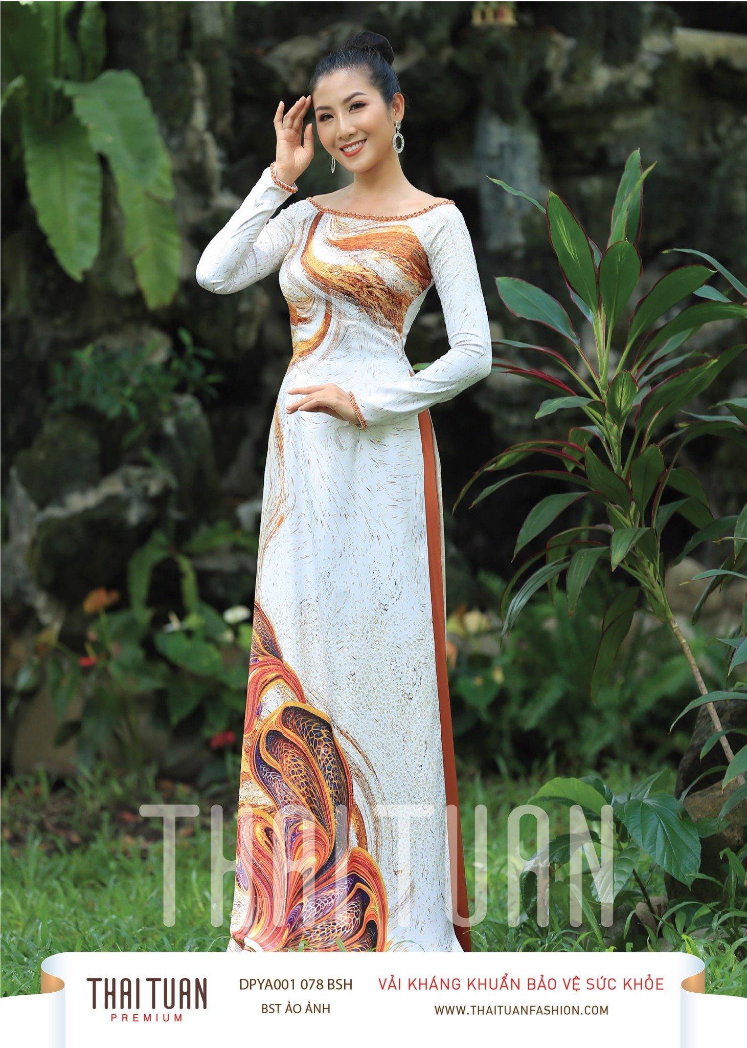 DPYA001-078-BSH | Vải Áo Dài Thái Tuấn Premium