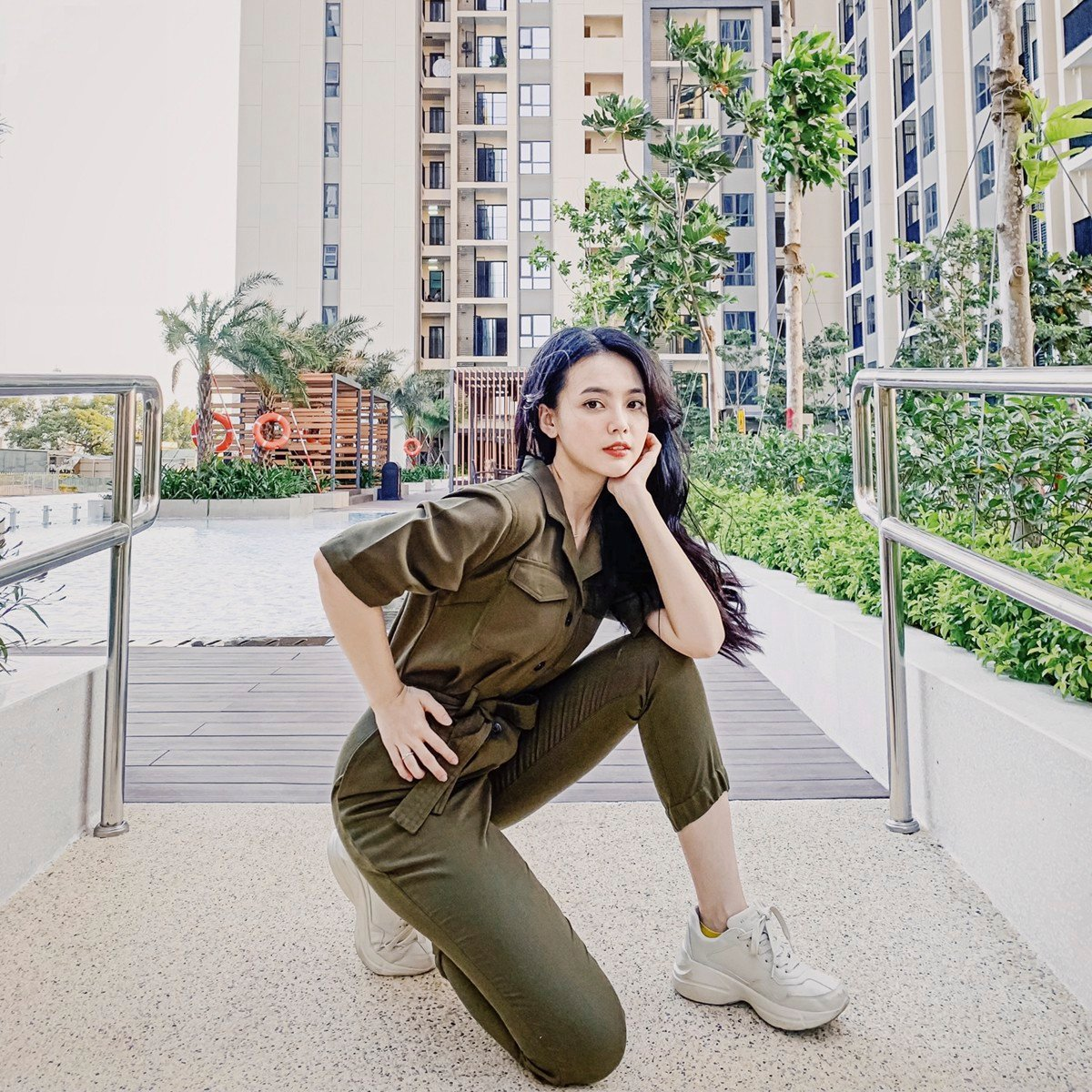 Khaki Boilersuit