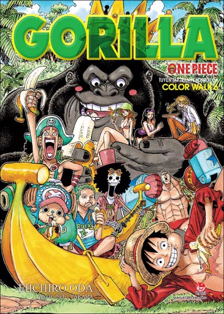 One Piece Color Walk - Tập 6