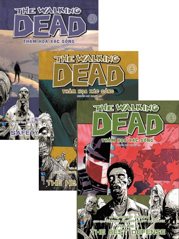 Combo The Walking Dead tập 3,4,5