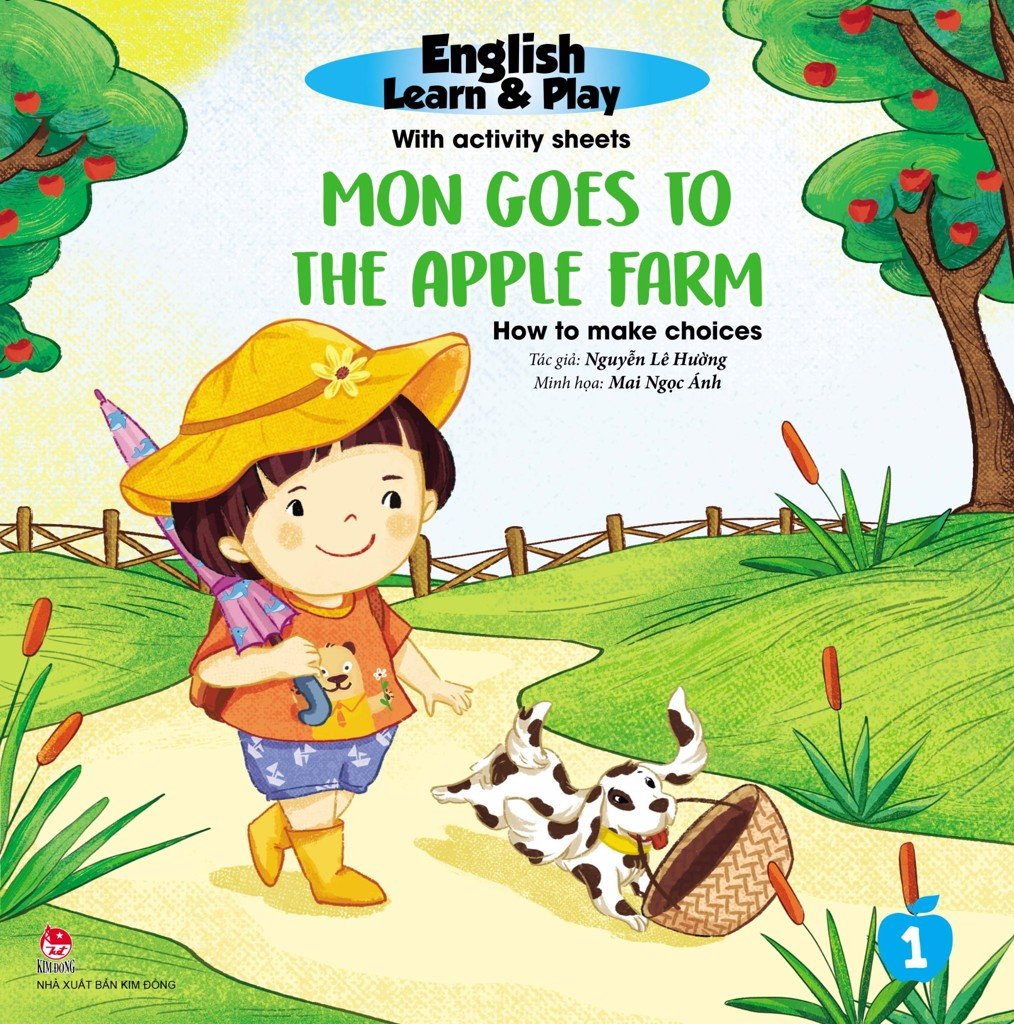 English Learn & Play: 1_Mon Goes To The Apple Farm_How To Make Choices