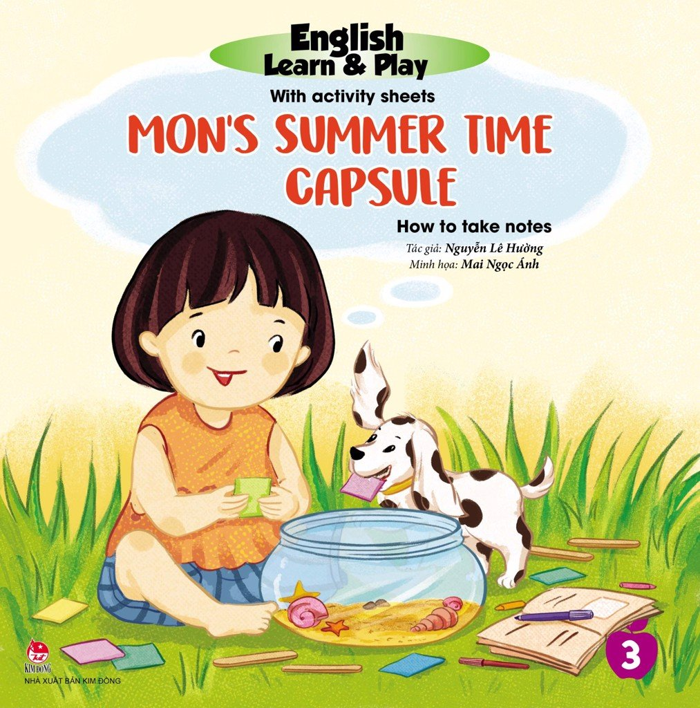 English Learn & Play: 3_Mon's Summer Time Capsule_How To Take Notes