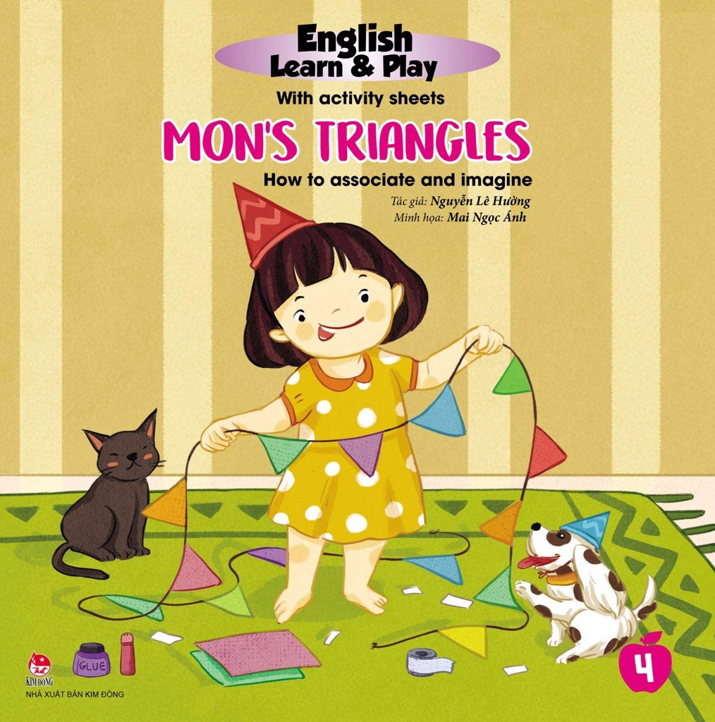 English Learn & Play: 4_Mon's Triangles_How To Associate And Imagine