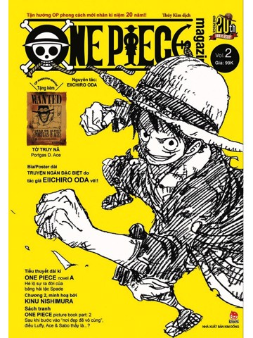 One Piece Magazine – Tập 2