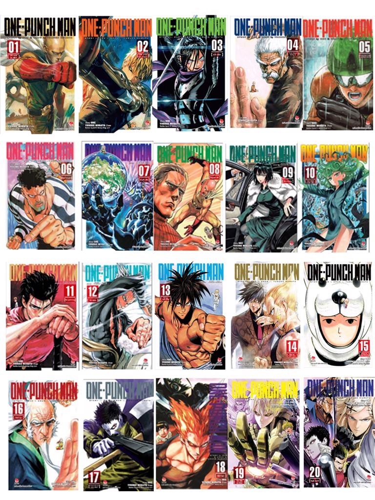Combo One-Punch Man 1-20