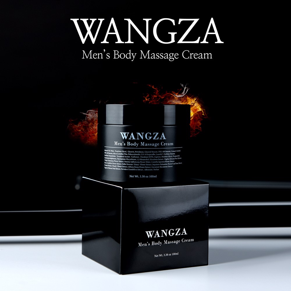 [Wangza Event] Kem Massage Cho Nam Wangza Men's Body Massage Cream