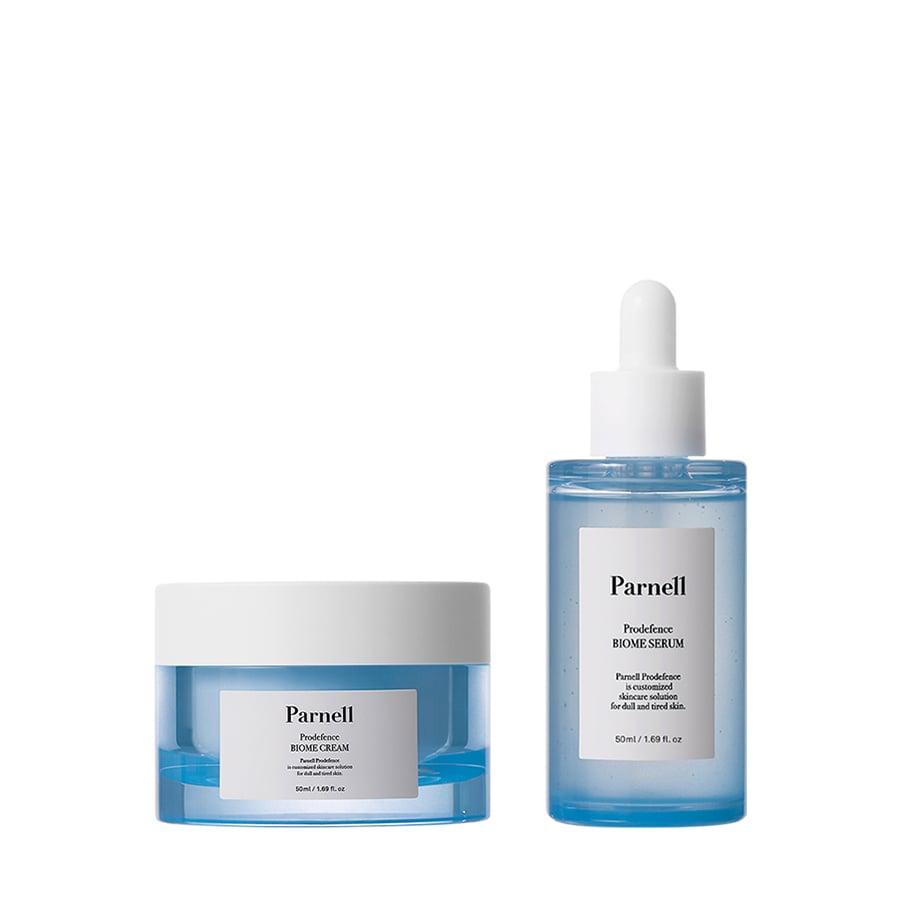 Combo Bộ Đôi Kem Dưỡng + Tinh Chất Parnell Prodefence Biome