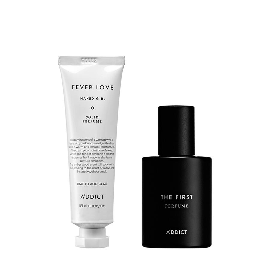 [A'DDICT GIFT EVENT] Combo A'DDICT Nước Hoa Eau De Perfume + Nước Hoa Khô Fever Love Naked Girl Solid Perfume