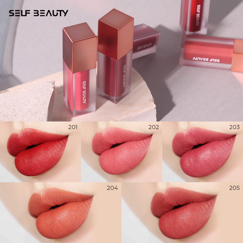 [TẾT 2021] Son Tint Self Beauty Beautitude Sheer Matt Lip Tint