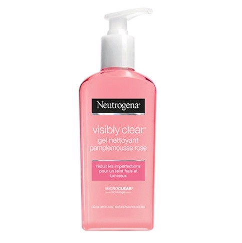 Neutrogena _Gel Rửa Mặt Visibly Clear Pamplemousse Rose 200ml