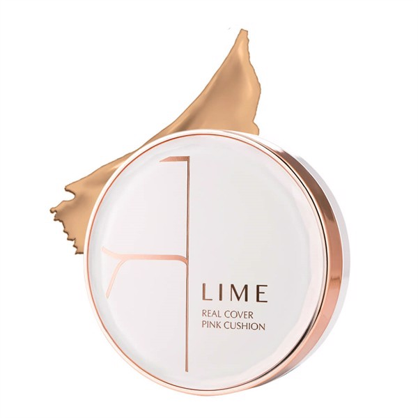 Lime _Phấn Nước Real Cover Pink SPF 50+ No.10