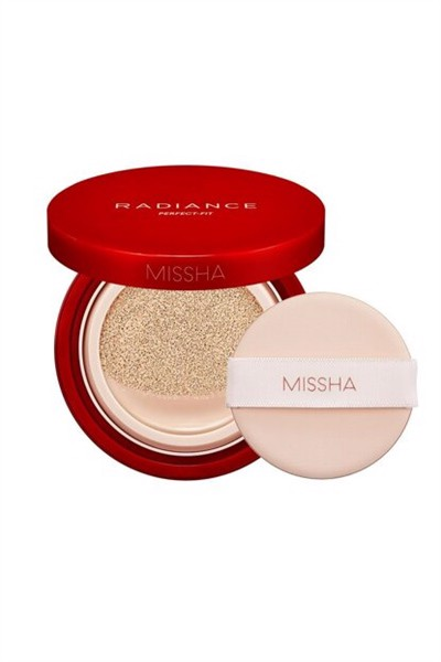 Missha_Phấn Nước Radiance Perfect Fit #23 Sand 15g