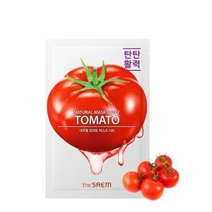 The Saem_Mặt Nạ Cà Chua Natural Tomato Mask Sheet 21ml