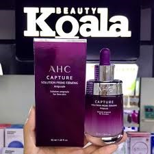 AHC_Serum Capture Solution Prime Firming Ampoule (Tím) 50ml